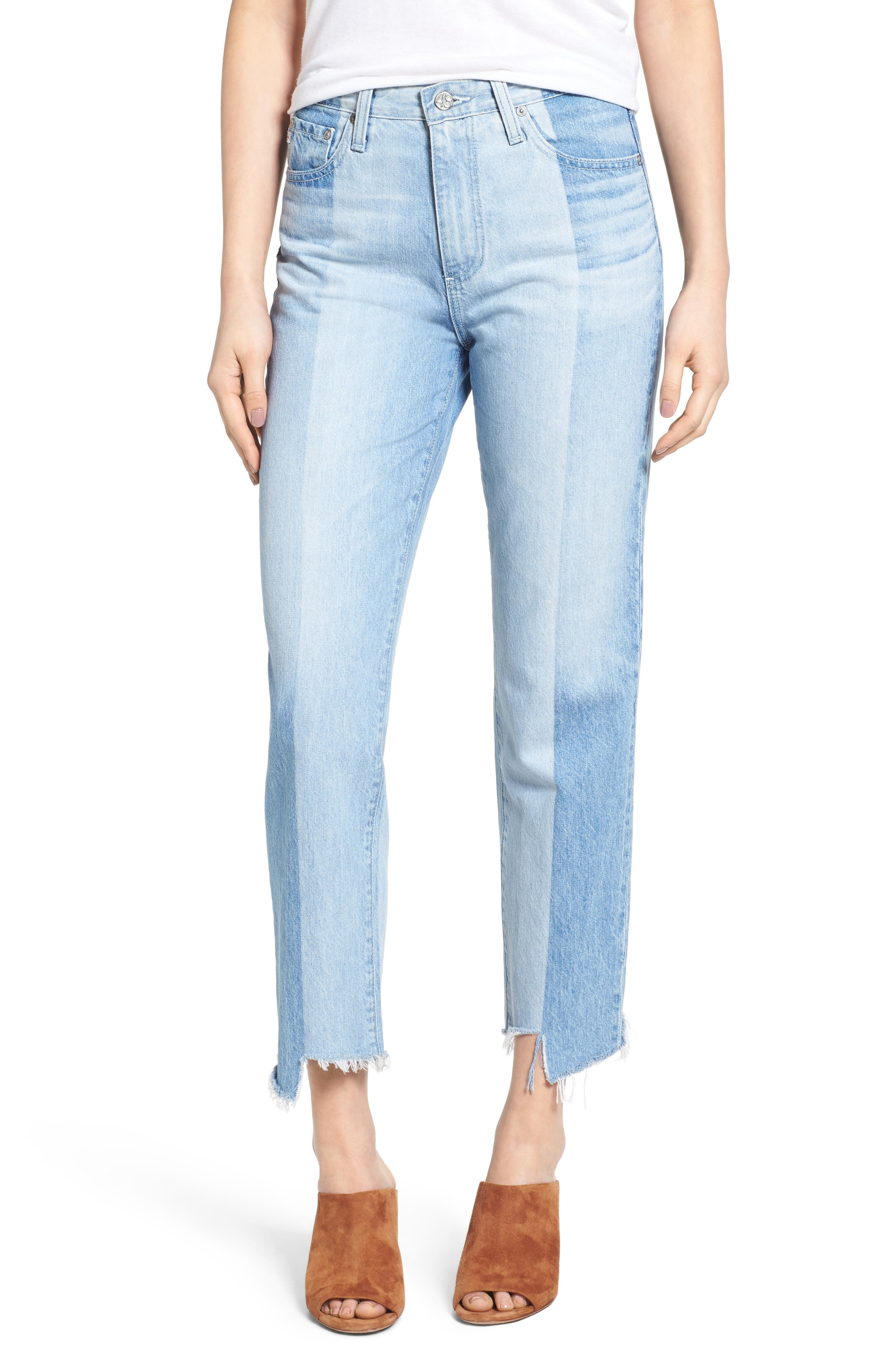 Image of AG The Phoebe Vintage High Waist Straight Leg Jeans