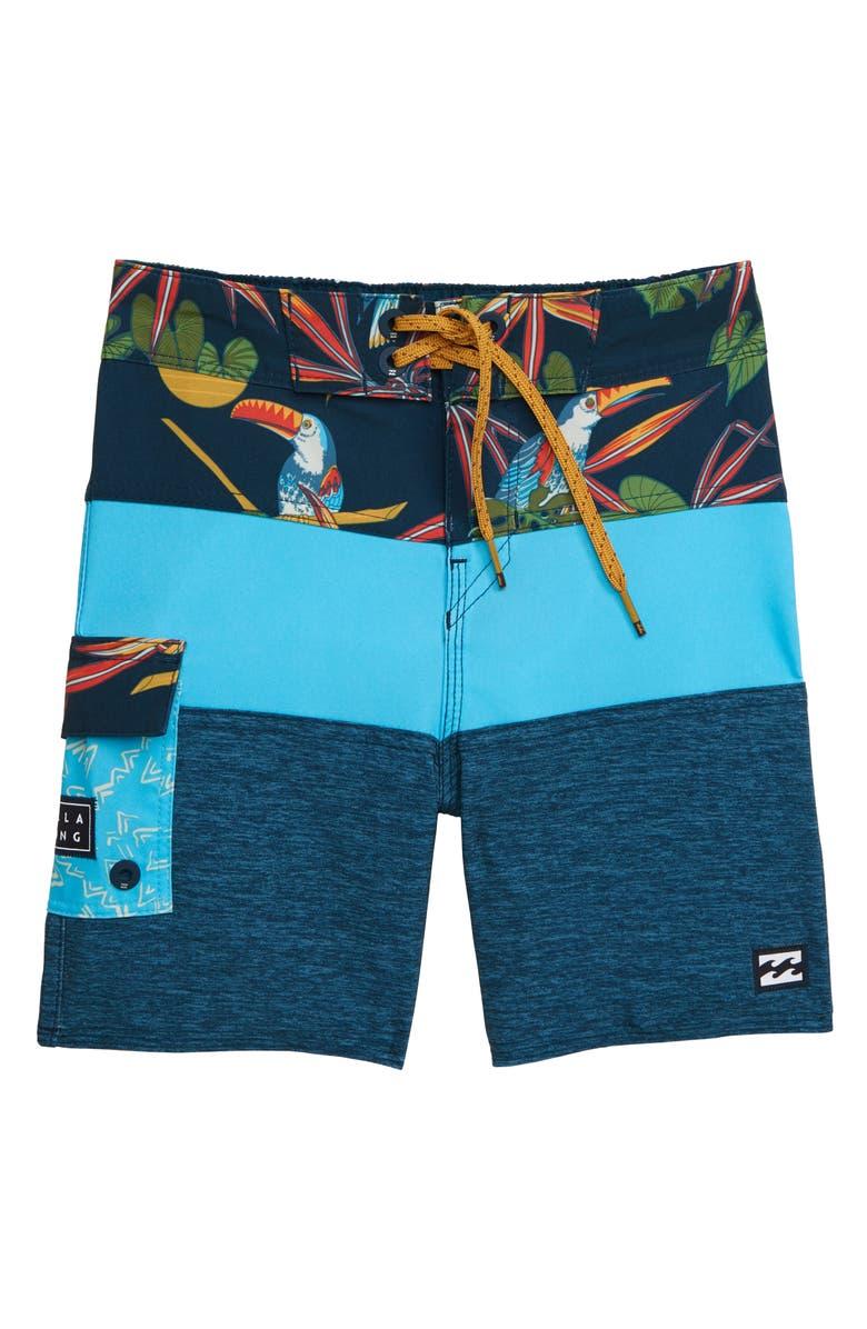 BILLABONG Tribong Pro Board Shorts, Main, color, 416