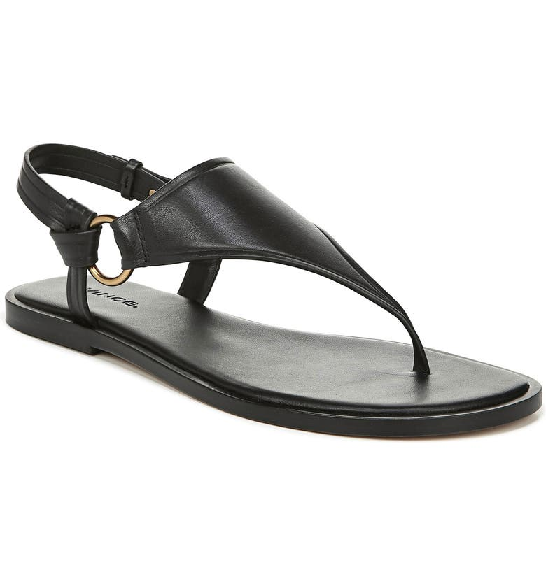 VINCE Pharis Sandal, Main, color, BLACK