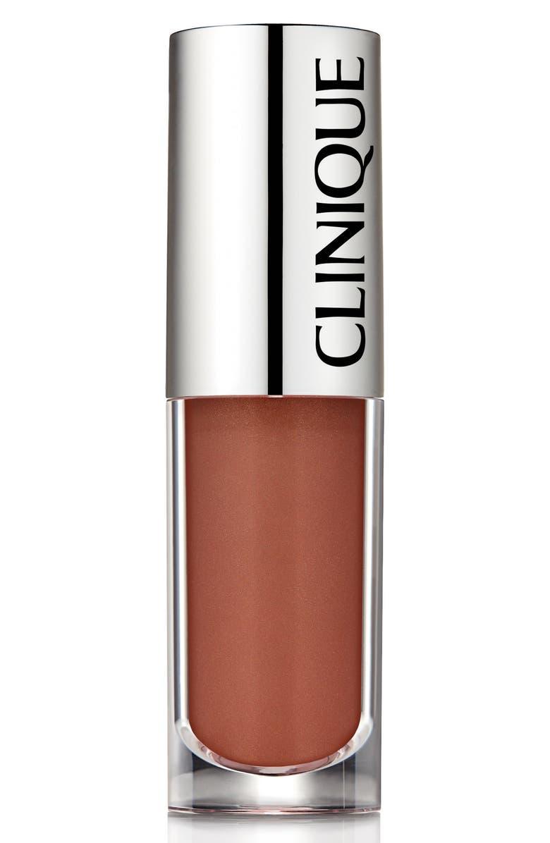 CLINIQUE Pop Splash Lip Gloss, Main, color, LATTE