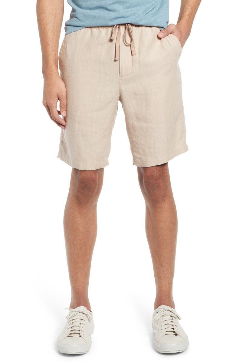 VINCE Drawstring Hemp Shorts, Main, color, 250