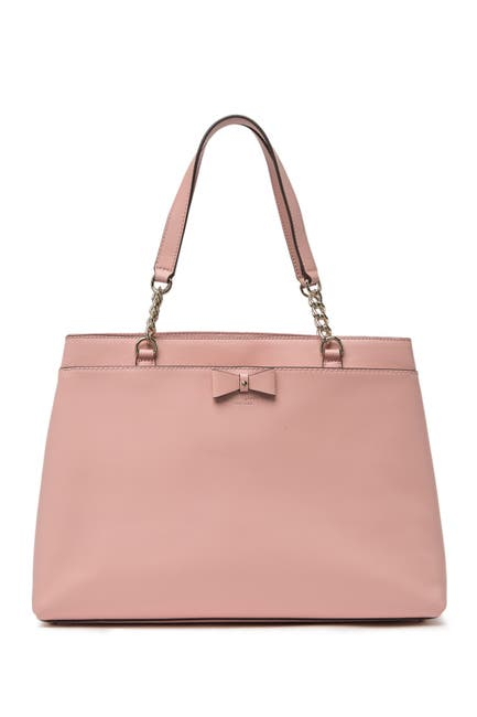 Image of kate spade new york maryanne leather tote bag