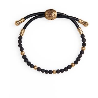 John Varvatos Stone Bead Bracelet