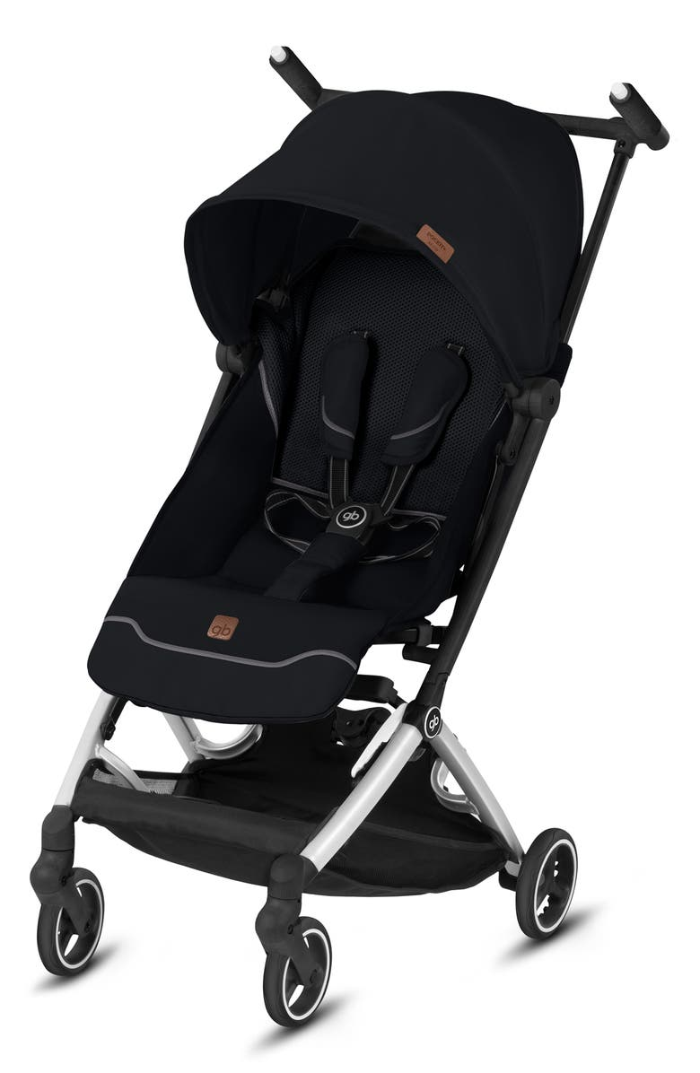 CYBEX gb Pockit+ All-City Stroller, Main, color, VELVET BLACK
