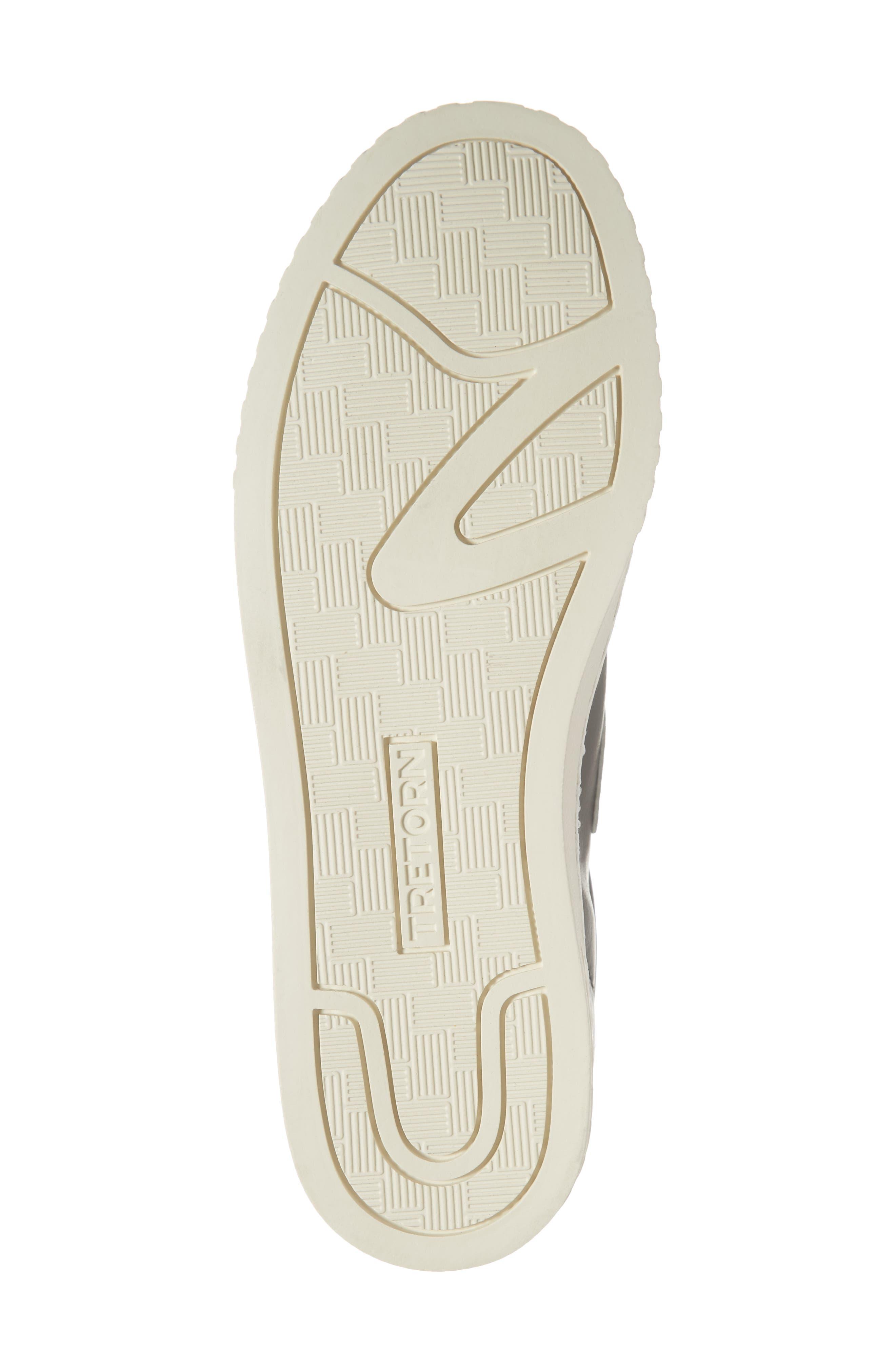 ,                             Callie 5 Sneaker,                             Alternate thumbnail 6, color,                             BLACK/ VINTAGE WHITE FABRIC