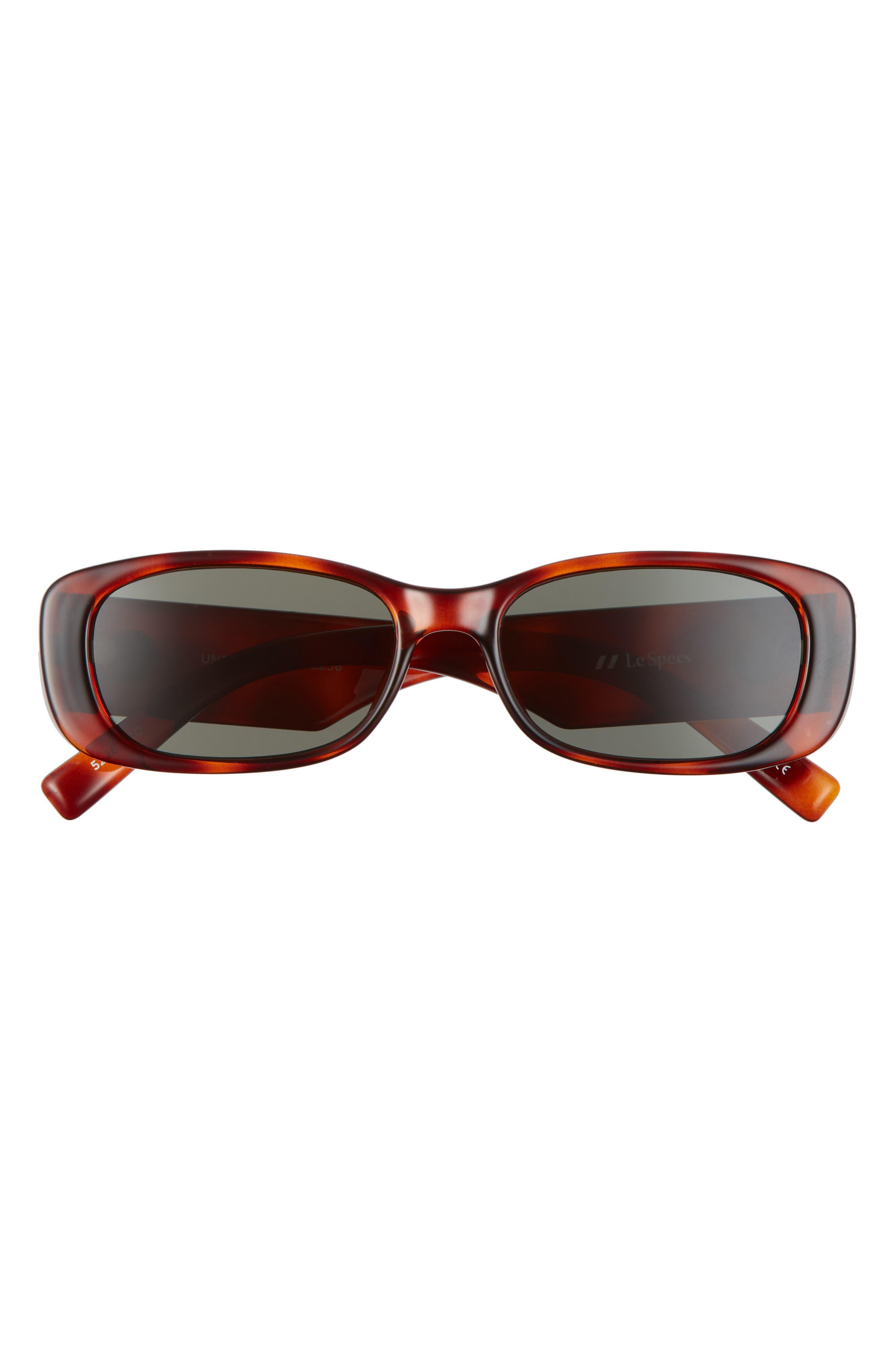 Unreal 52mm Rectangular Sunglasses