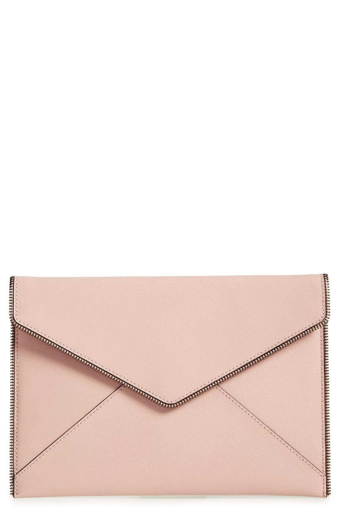 ,                             Leo Envelope Clutch,                             Main thumbnail 137, color,                             252