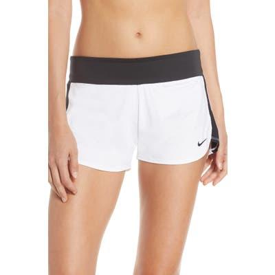 Nike Solid Element Swim Boardshorts, White