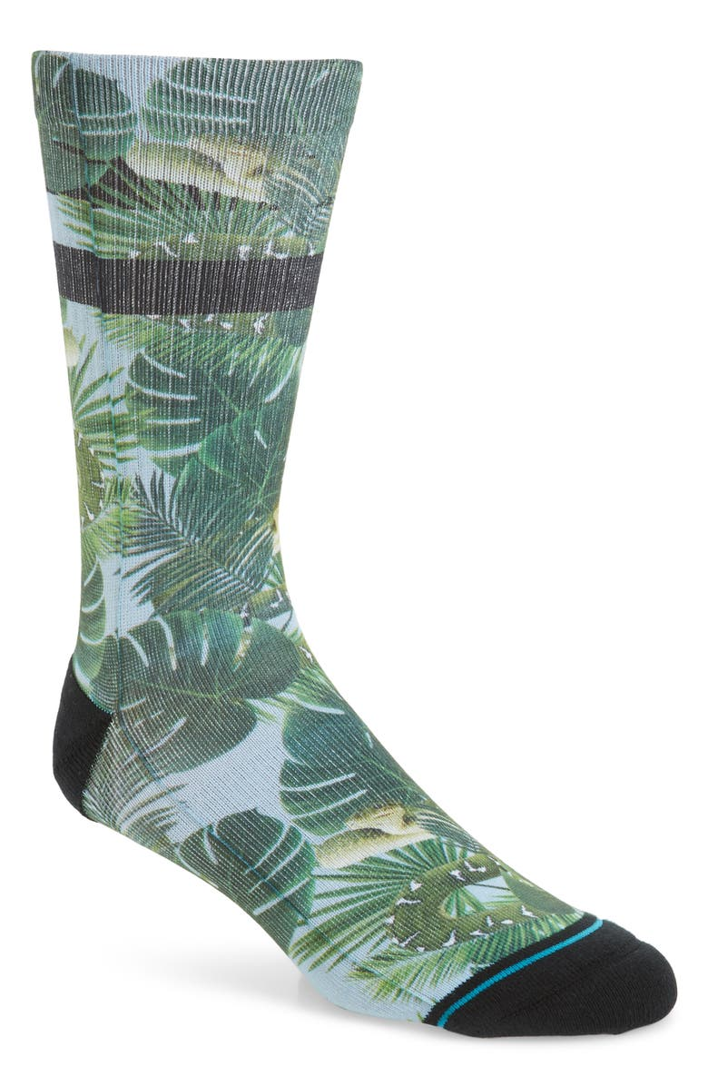 STANCE Taracoles Socks, Main, color, GREEN