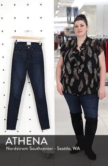 Sierra High Waist Skinny Jeans, sales video thumbnail