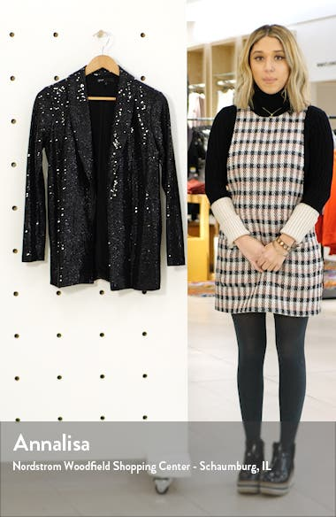 x Glam Living in Yellow Sequin Shine Blazer, sales video thumbnail
