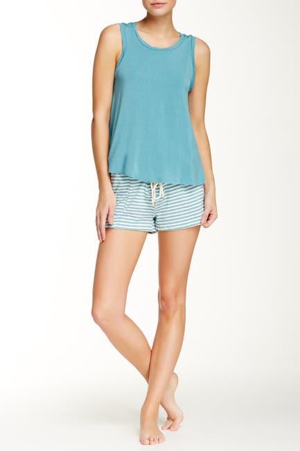 Image of Honeydew Intimates Prima Lace Up Shorts