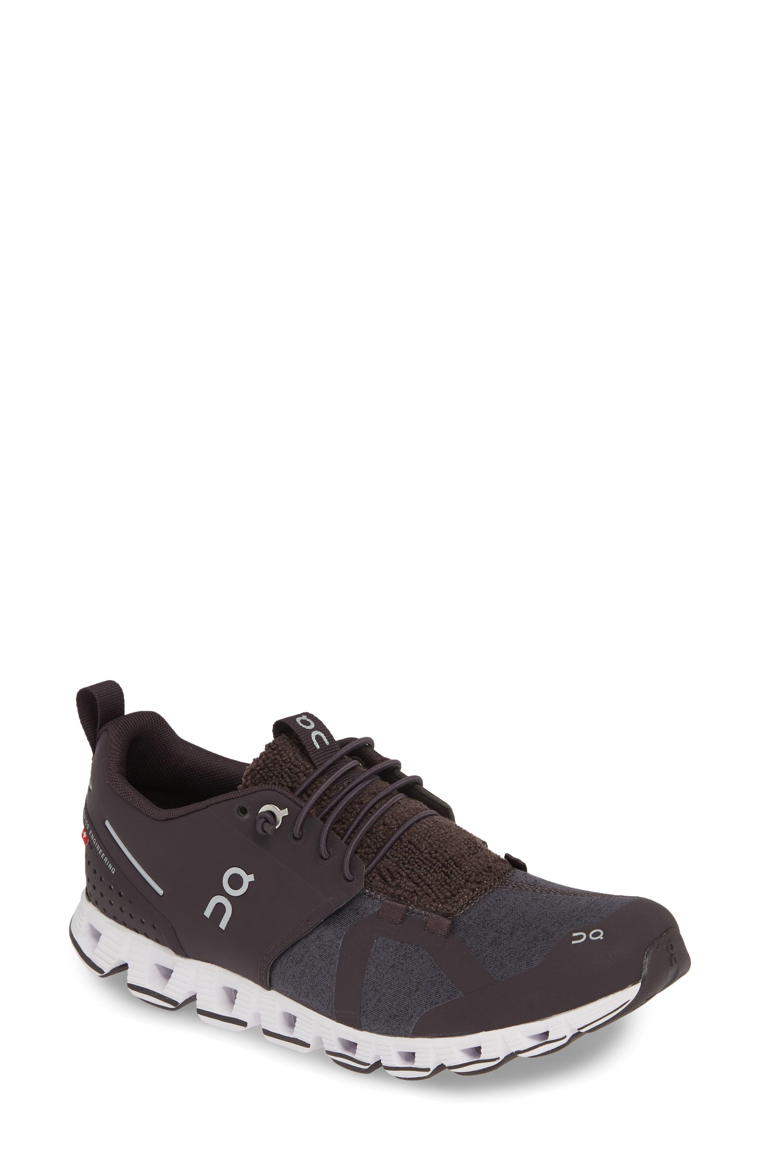 ,                             Cloudterry Sneaker,                             Main thumbnail 1, color,                             PEBBLE