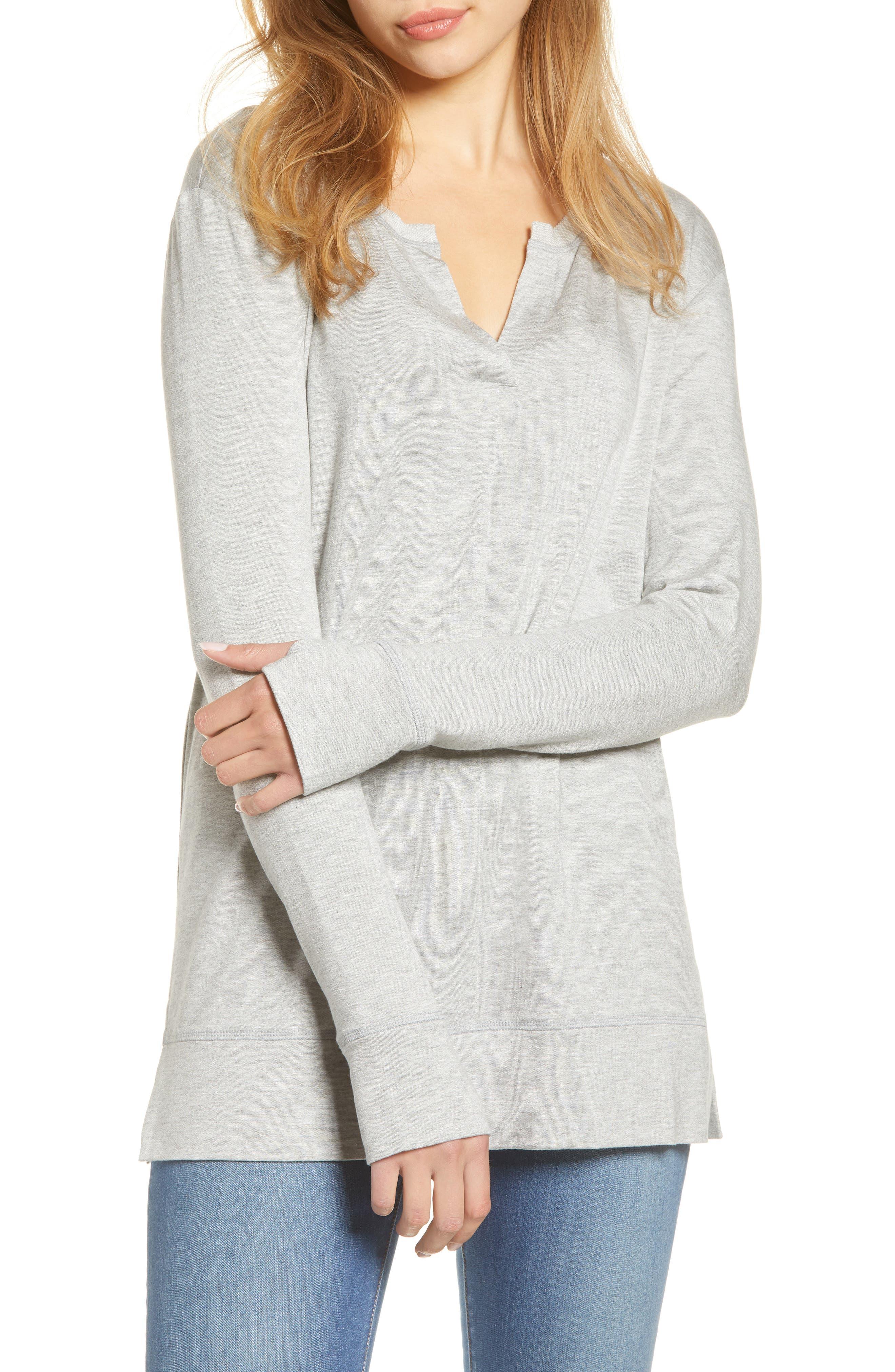 Caslon® Off Duty Sweatshirt