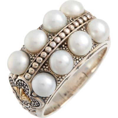 Konstantino Thalia Pearl Row Ring