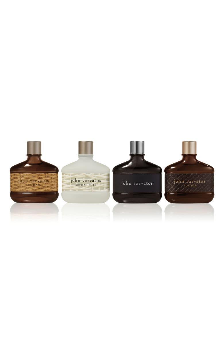 JOHN VARVATOS Travel Size Fragrance Set, Main, color, NO COLOR