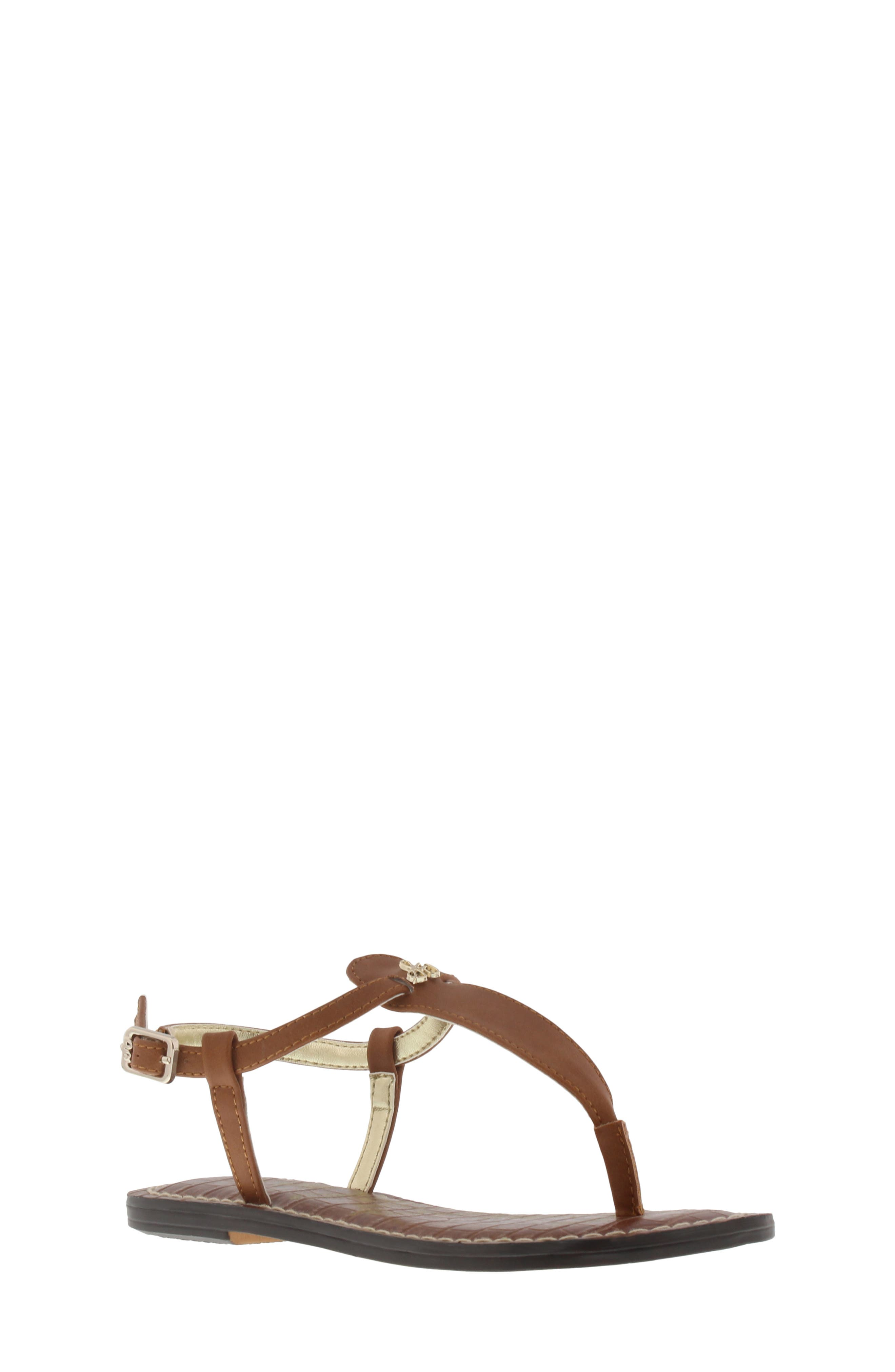 'Gigi' Sandal, Main, color, LUGGAGE