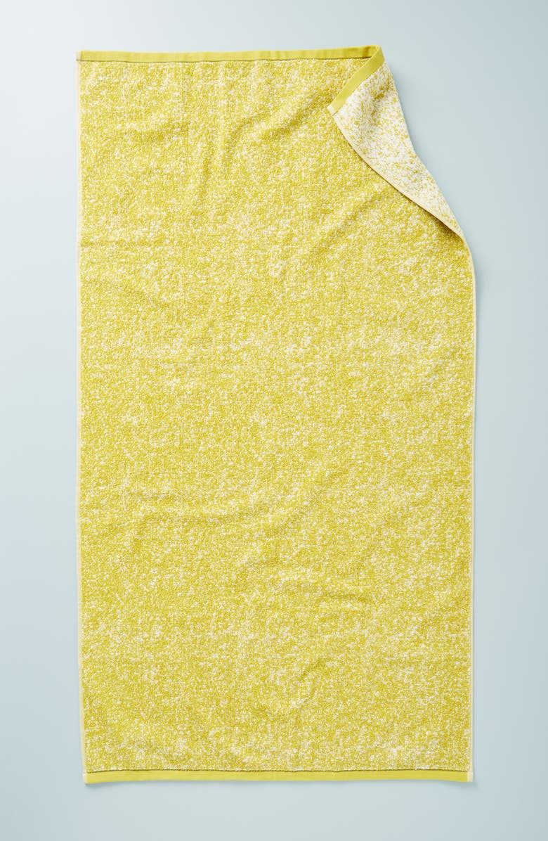 ANTHROPOLOGIE Mairade Hand Towel, Main, color, CITRON