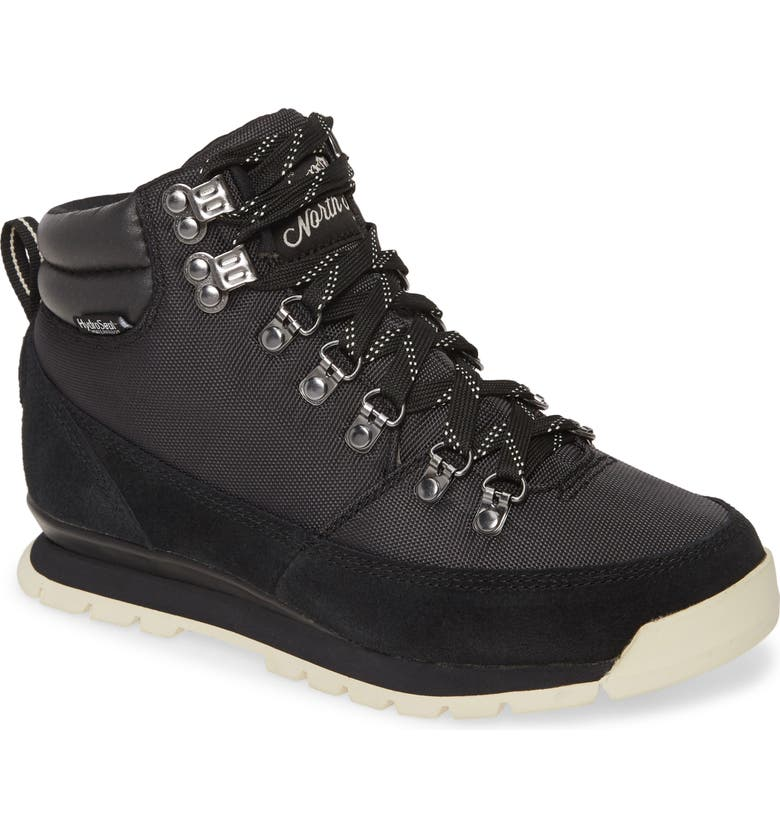 THE NORTH FACE Back to Berkeley Redux Waterproof Bootie, Main, color, BLACK/ VINTAGE WHITE