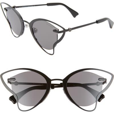 Moncler Genius X 4 Simone Rocha 5m Butterfly Sunglasses - Shiny Black /smoke