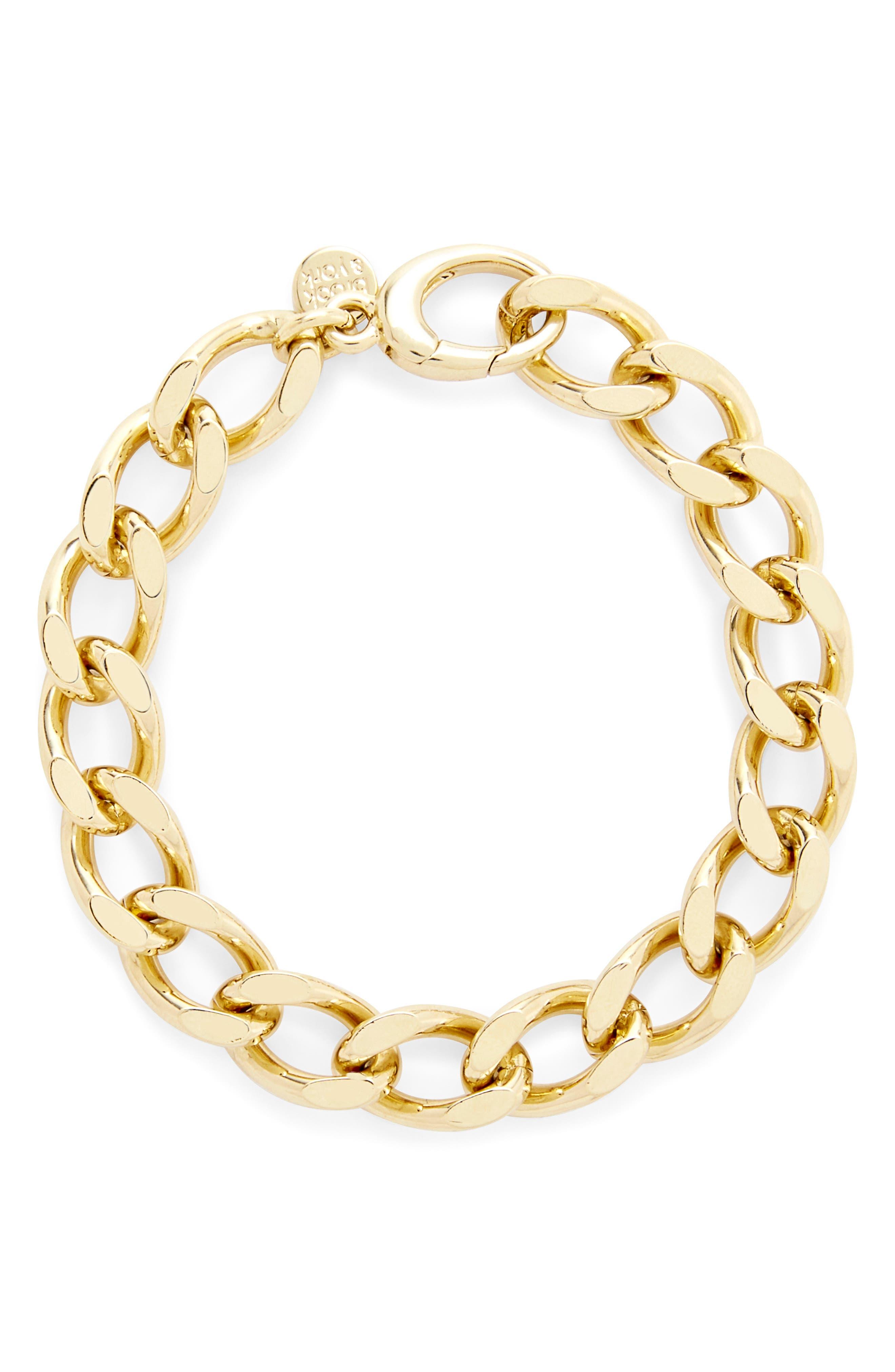 Gigi Curb Chain Bracelet