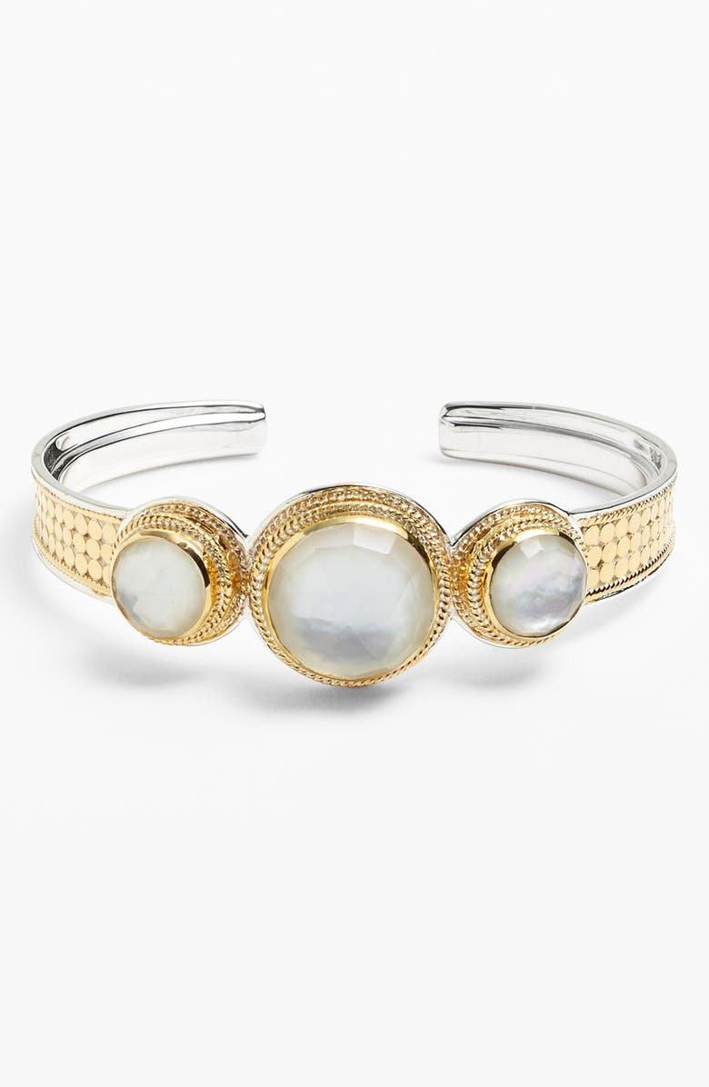 ANNA BECK 'Gili' Triple Doublet Cuff, Main, color, 710