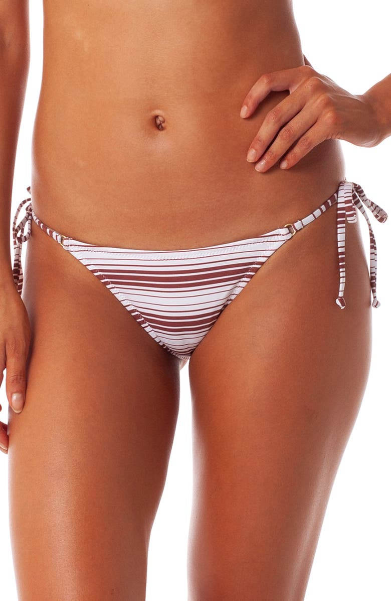 RHYTHM Aria Side Tie Itsy Bikini Bottoms, Main, color, 020