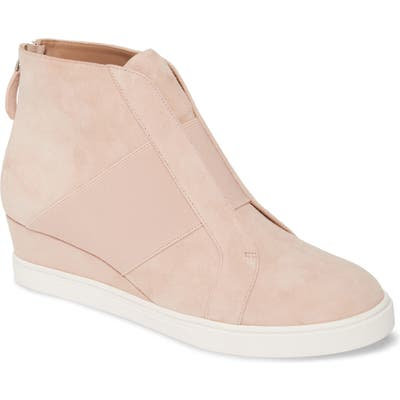 Linea Paolo Amber Wedge Sneaker- Pink