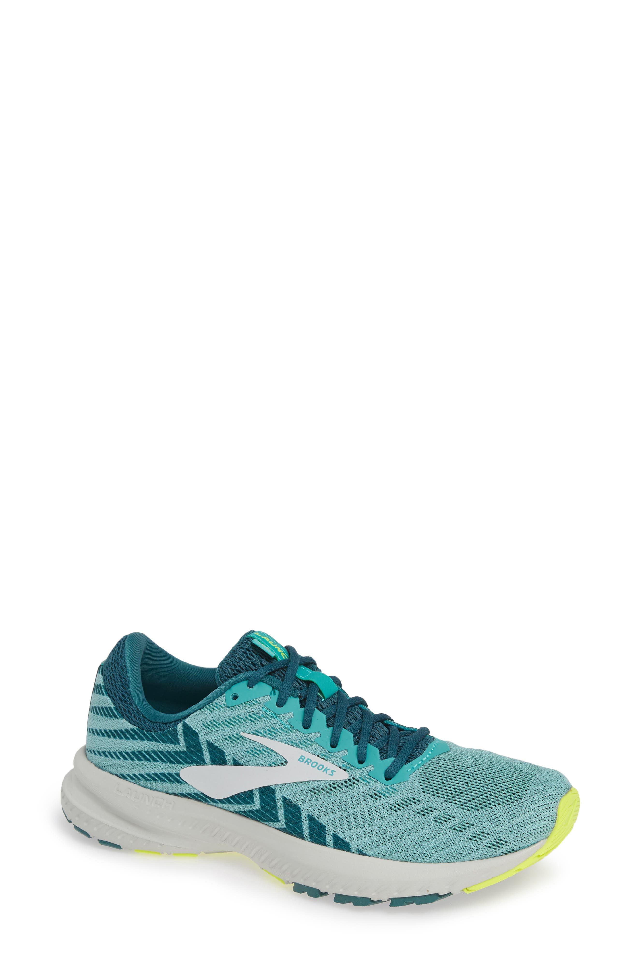 Brooks Launch 6 Running Shoe, Blue/green