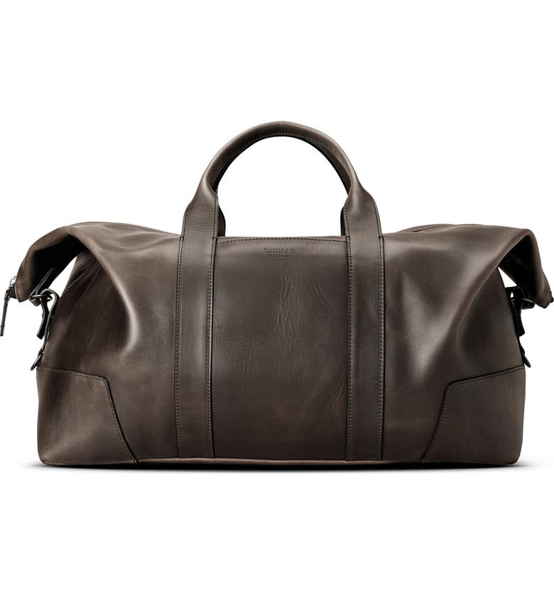 SHINOLA Madone Leather Carryall Bag, Main, color, 018