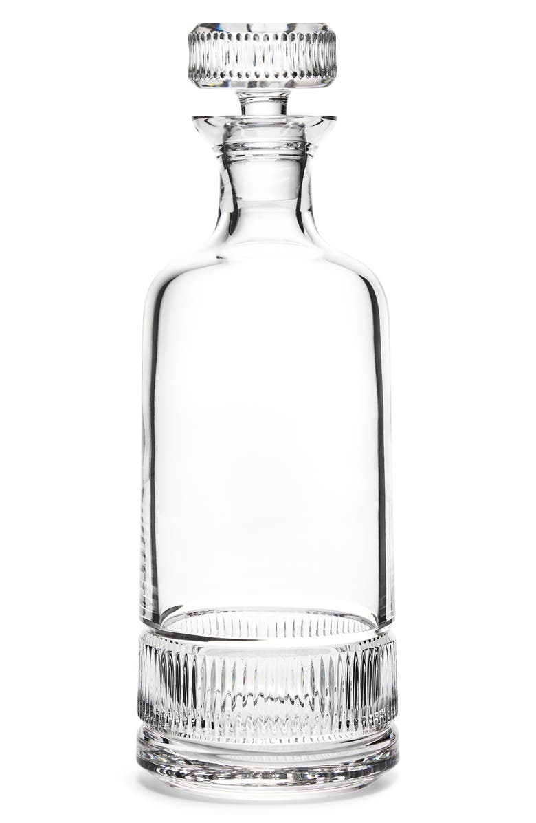 RALPH LAUREN Broughton Lead Crystal Decanter, Main, color, CLEAR