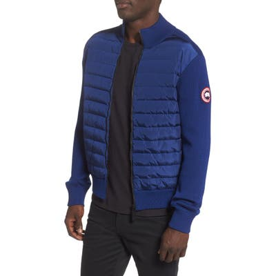 Canada Goose Hybridge 675 Fill Power Down Jacket, Blue