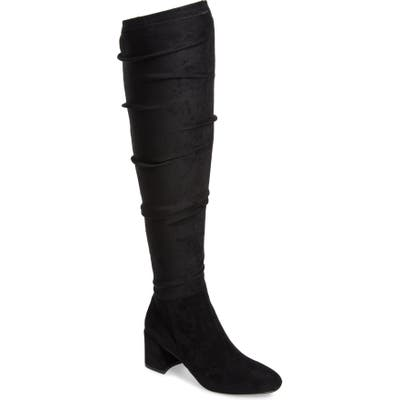 Chinese Laundry Dabbie Over The Knee Boot- Black