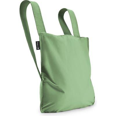 Notabag Convertible Tote Backpack - Green