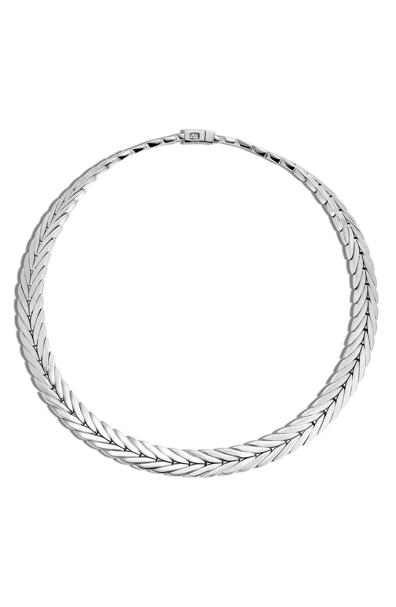 JOHN HARDY 'Classic Chain' Chain Collar Necklace, Main, color, SILVER