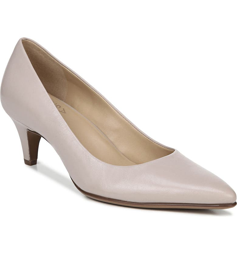 NATURALIZER Beverly Pump, Main, color, SOFT MARBLE LEATHER