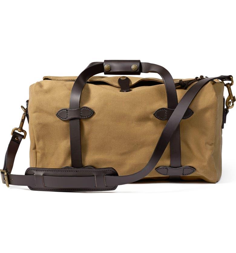 FILSON Small Duffle Bag, Main, color, TAN