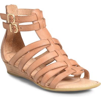 B?rn Challis Gladiator Sandal, Brown