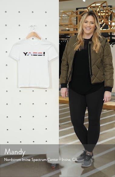 Yass Logo Stretch Cotton Tee, sales video thumbnail