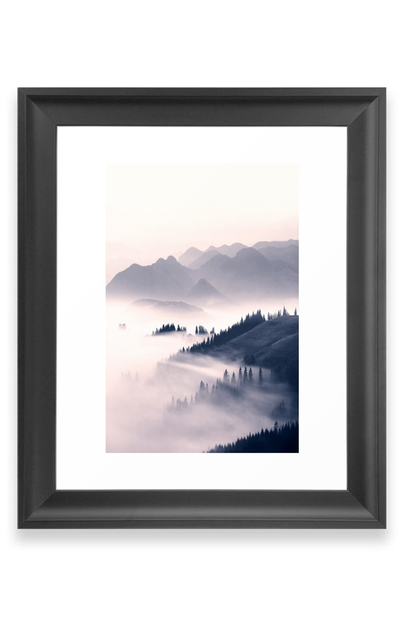 A misty mountain sunrise scene brings a sense of tranquility to a satin-finish art print available on its own or in a ready-to-hang frame. Style Name: Deny Designs Morning Sun Art Print. Style Number: 5867635 1. Available in stores.