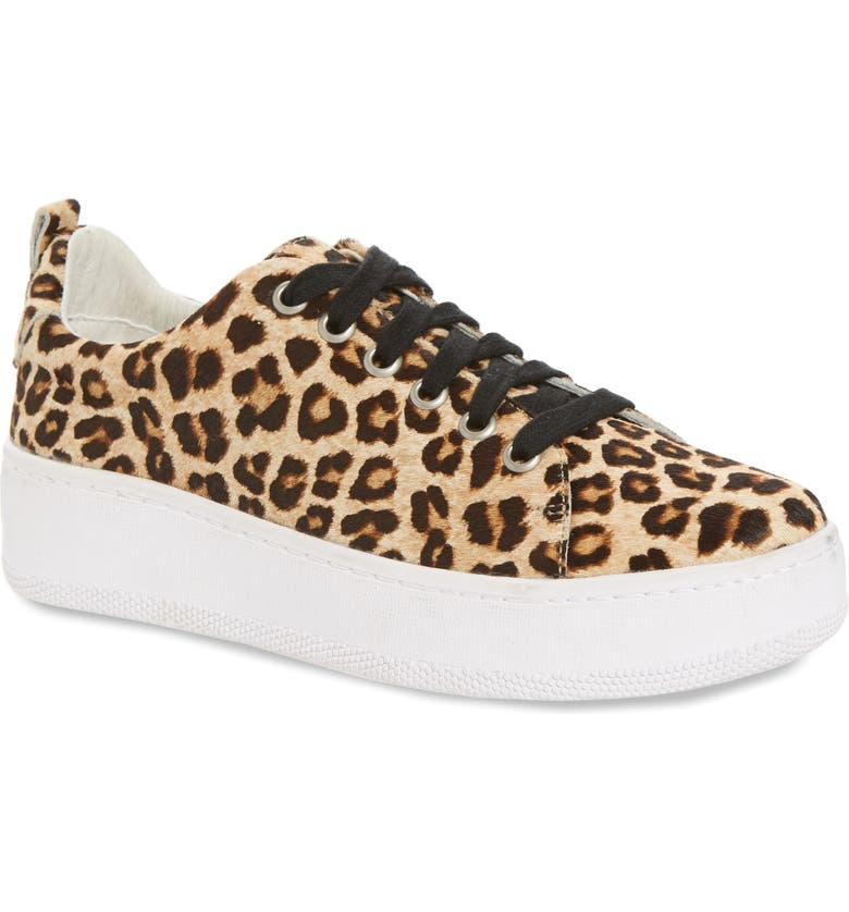 HALOGEN<SUP>®</SUP> Ivie Sneaker, Main, color, LEOPARD HAIRCALF