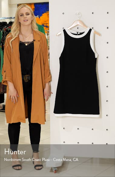 Truly Banded Detail Fit & Flare Minidress, sales video thumbnail