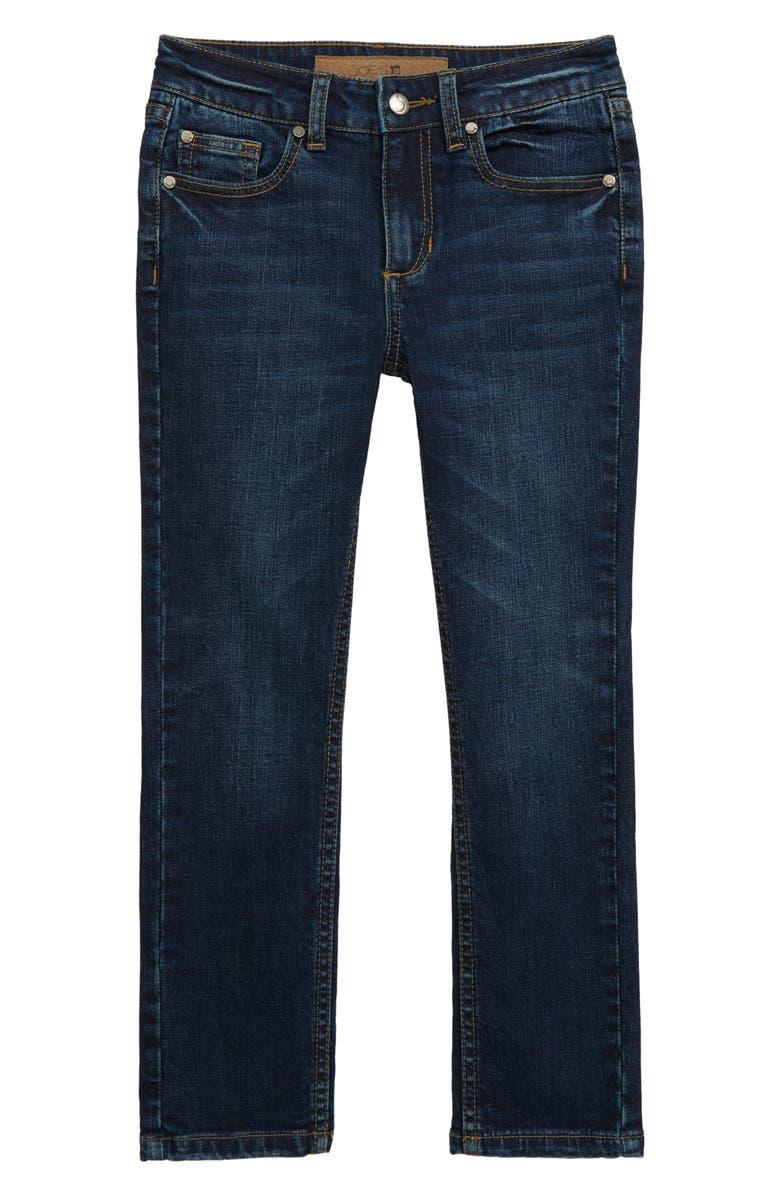 JOE'S Brixton Straight Leg Stretch Jeans, Main, color, HERITAGE BLUE