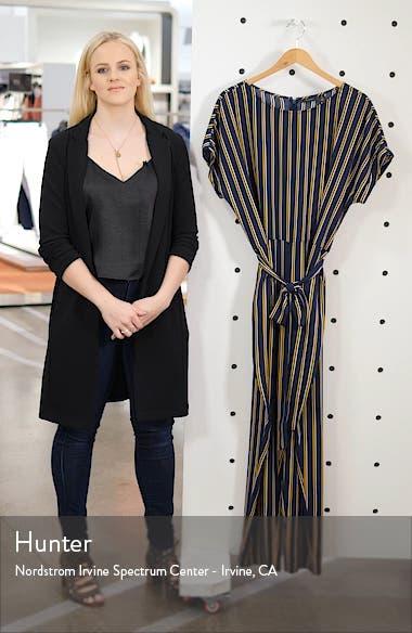 Stripe Short Sleeve Jumpsuit, sales video thumbnail