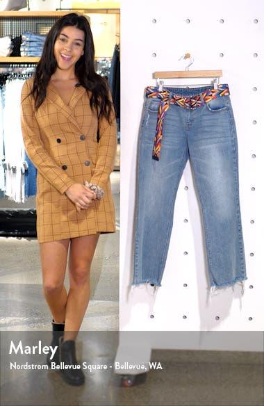 Raw Hem Crop Flare Jeans, sales video thumbnail