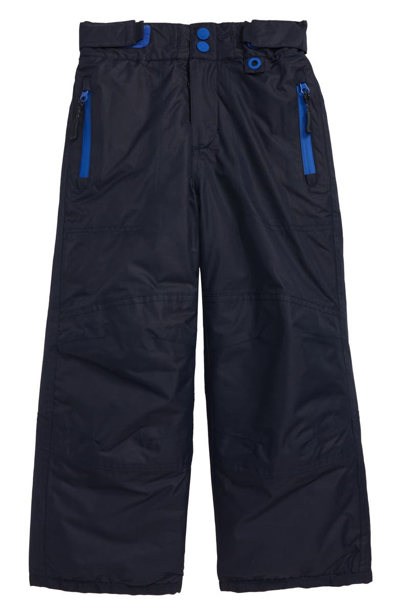 MINI BODEN All Weather Waterproof Pants, Main, color, NAVY BLUE