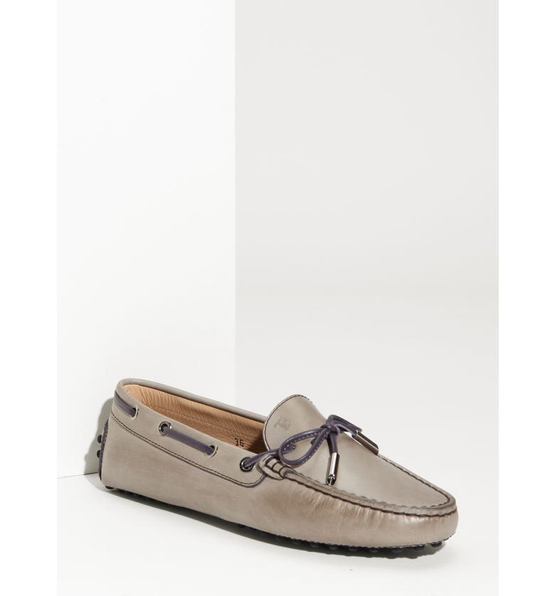 TOD'S 'Heaven Laccetto' Driving Moccasin, Main, color, 020