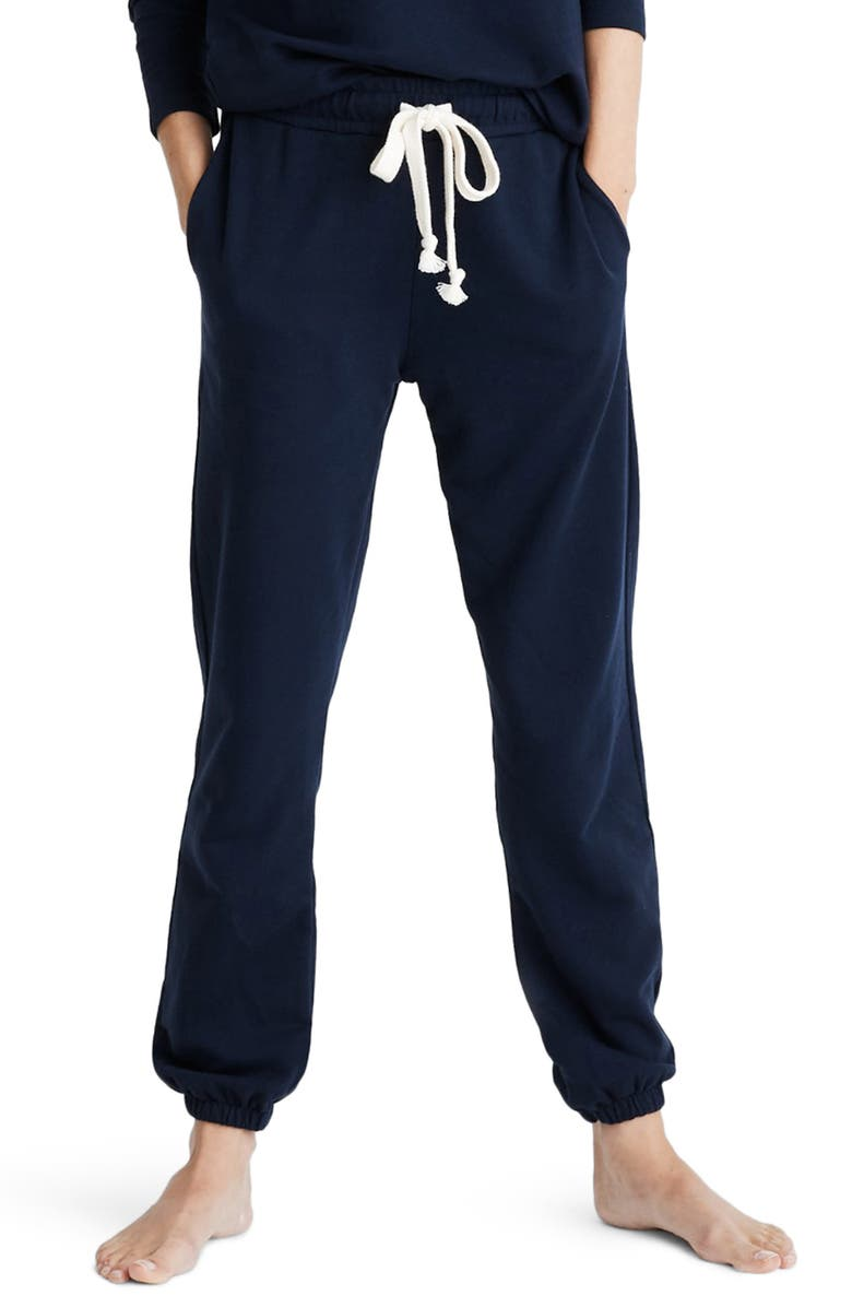 MADEWELL Pajama Sweatpants, Main, color, DEEP INDIGO