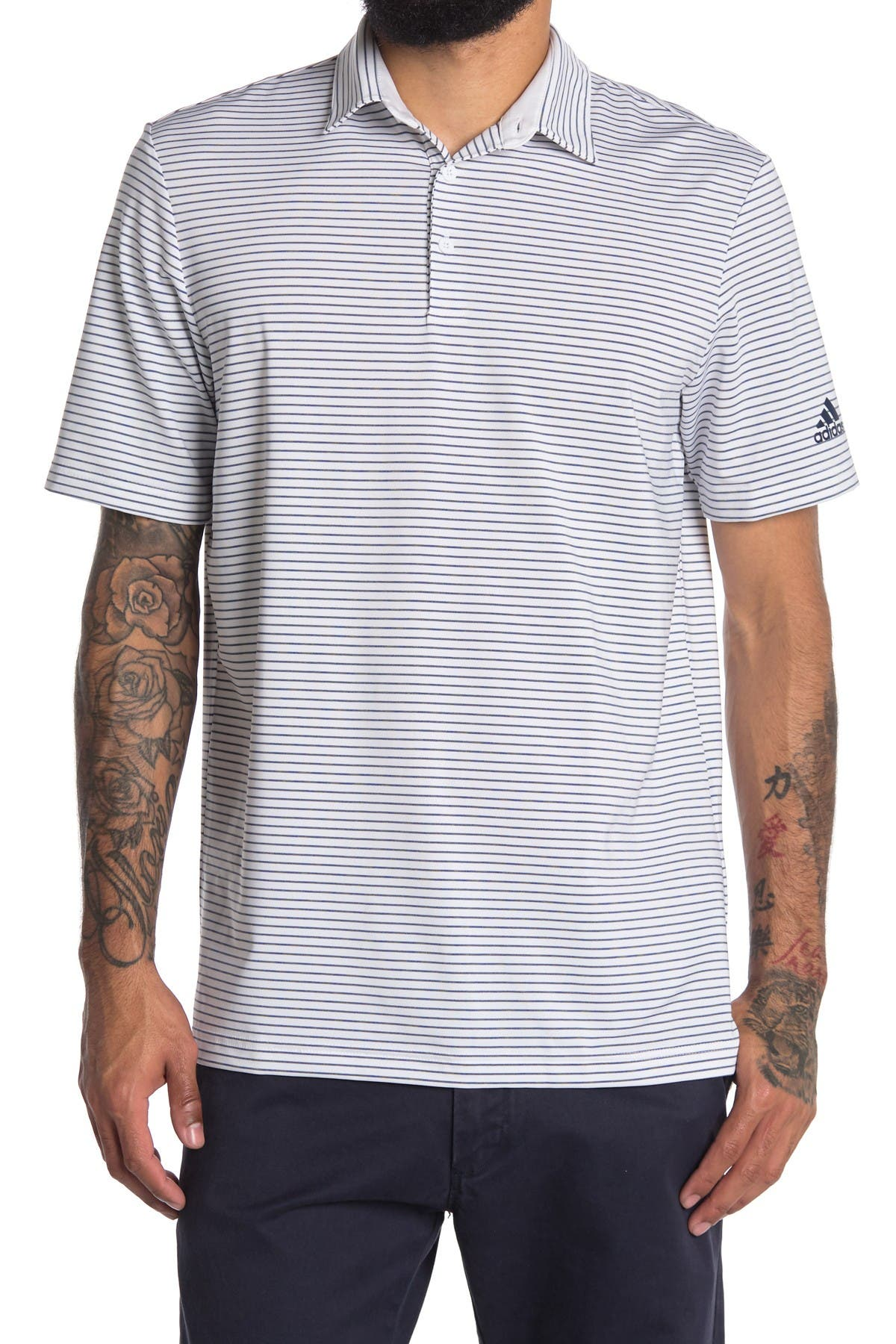 Image of Adidas Golf Ultimate Space Dye Polo
