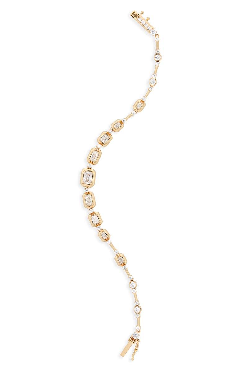 NADRI Mila Line Bracelet, Main, color, GOLD